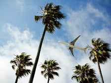Flying to LAX
