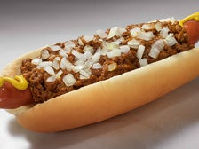 Stretch Chili Dog at Pink's Hot Dogs