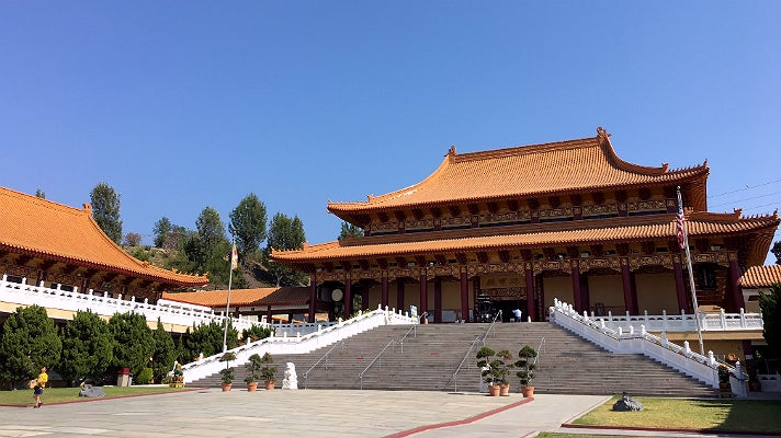 Hsi Lai Temple in Hacienda Heights
