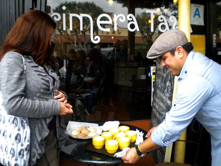 Melting Pot Food Tours at Primera Taza Coffee House