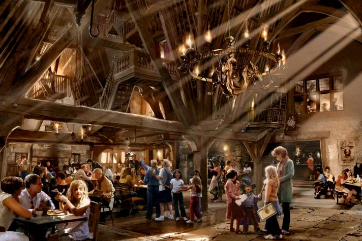 Three Broomsticks at Universal Studios Hollywood