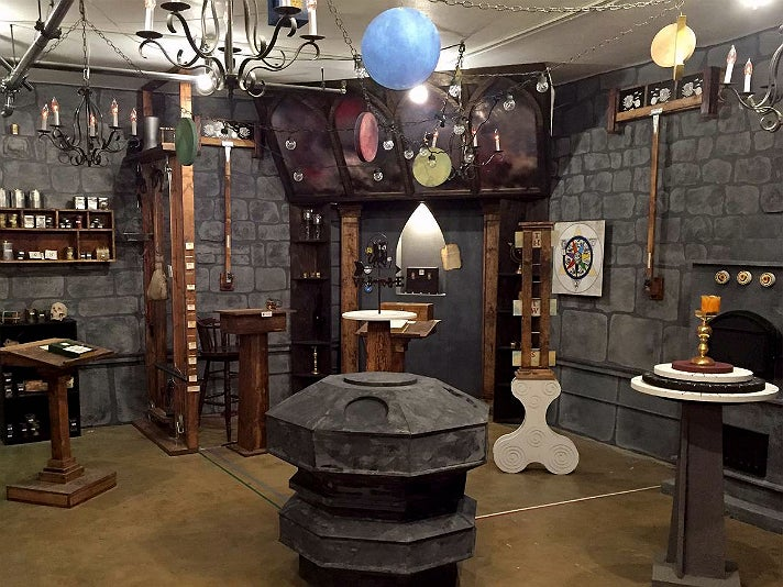 The Alchemist at Escape Room L.A.