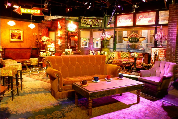 "Central Perk from ""Friends"" at Warner Bros. Studio"
