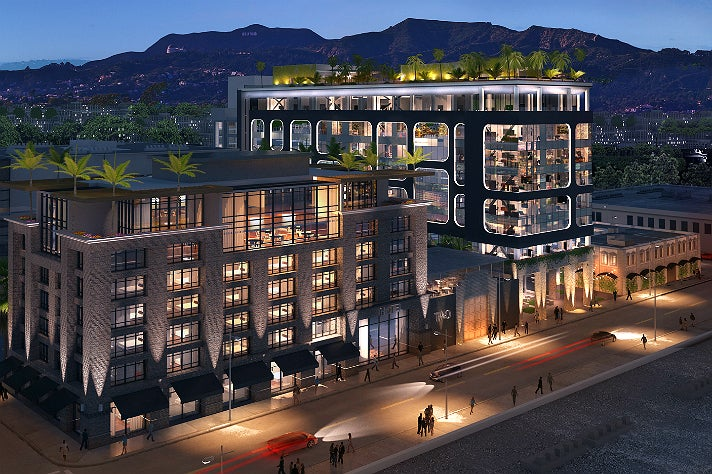 Rendering of Dream Hollywood Hotel phase 2