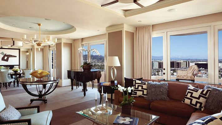 Presidential Suite East at Four Seasons Los Angeles
