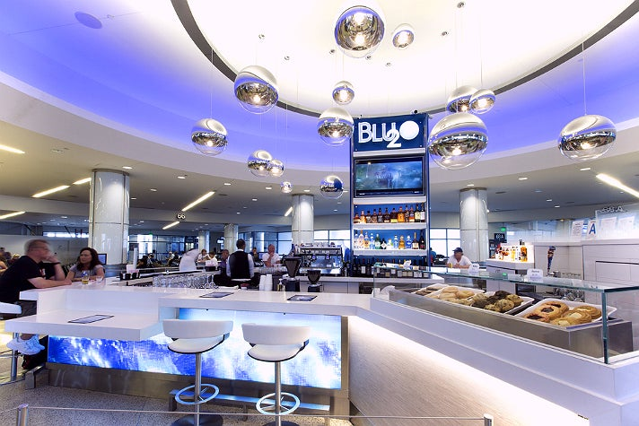 Blu2o in Terminal 6 at LAX
