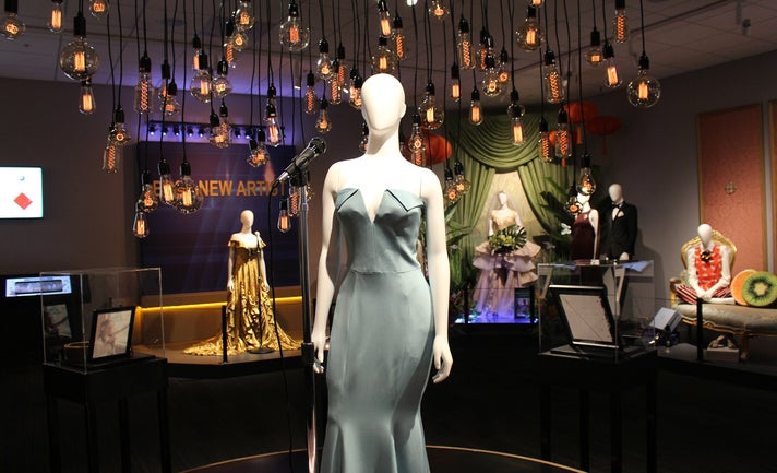 "Lady Gaga's dress from ""A Star is Born"" at Warner Bros. Studio Tour Hollywood"