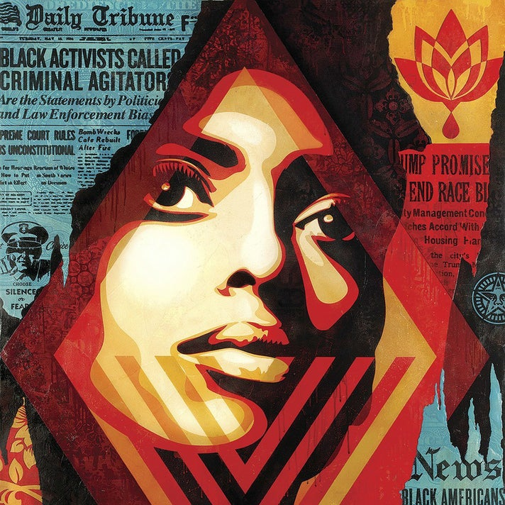 "Shepard Fairey, ""Bias By Numbers,"" 2017"