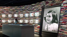 Anne Frank exhibit at the Museum of Tolerance