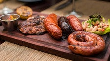 Argentinean Sausage Platter at Malbec