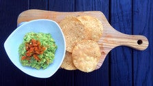 Guacamole al Tequila at Mexicano