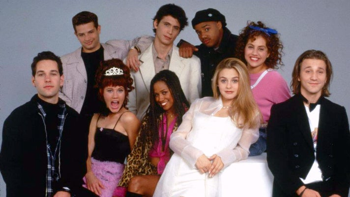 "The cast of ""Clueless"""