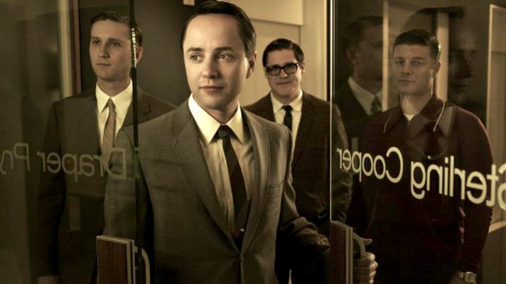 "Ken, Pete, Harry and Stan from ""Mad Men"" Season 5"