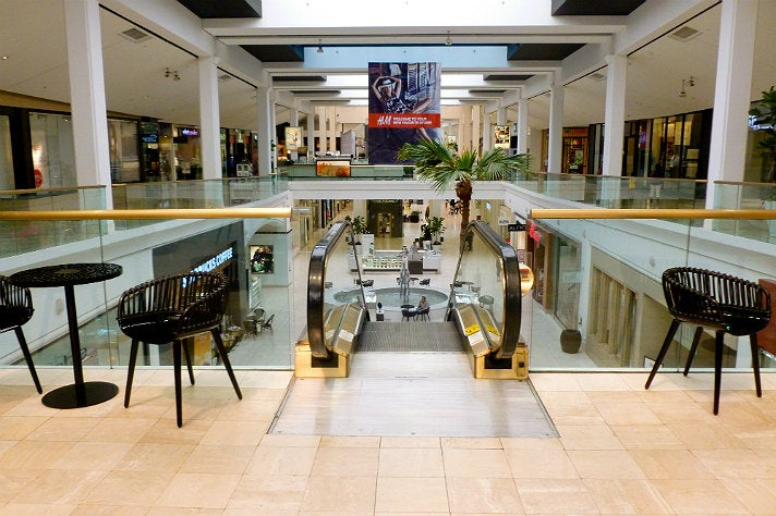 Second level of Westfield Fashion Square