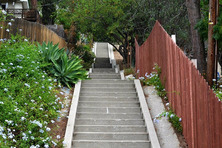 Clermont Street Stairs