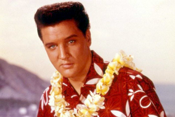 "Elvis in ""Blue Hawaii"""