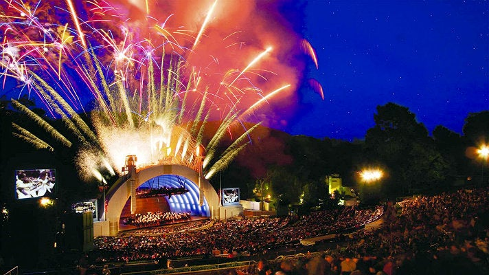 July 4th Fireworks Spectacular at the Hollywood Bowl