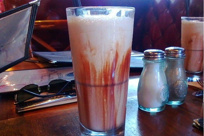 Guinness Milkshake at 25 Degrees