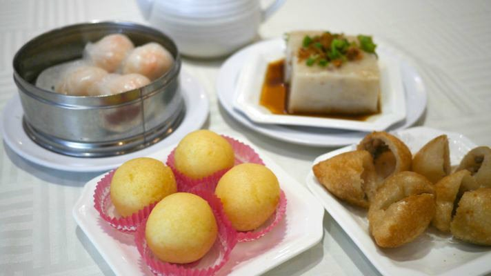 Dim sum at Sea Harbor