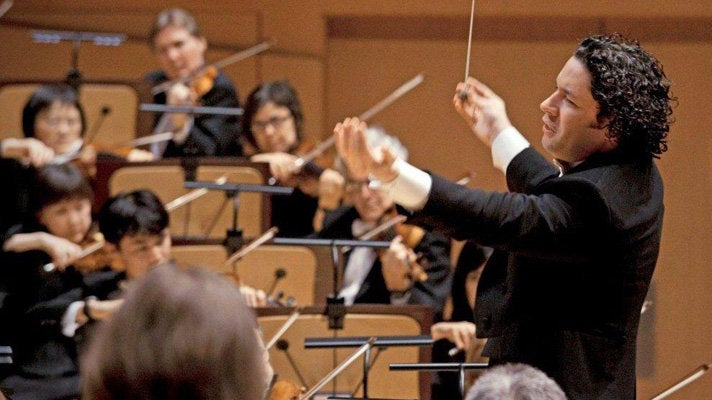 Gustavo Dudamel conducts the LA Phil