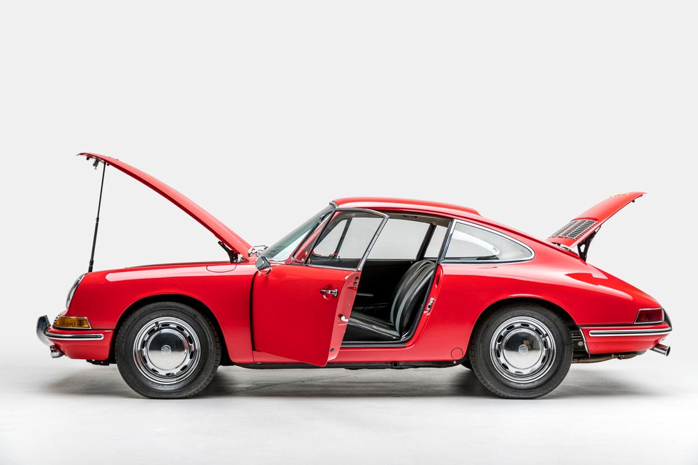 1964 Porsche 901 at Petersen Automotive Museum