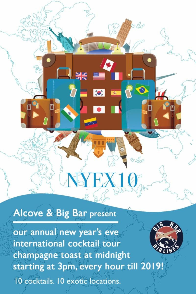 NYE X10 at Big Bar