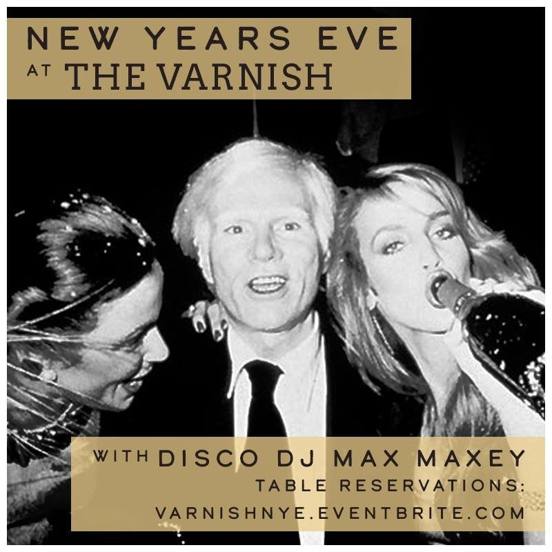 Disco NYE 2019 at The Varnish
