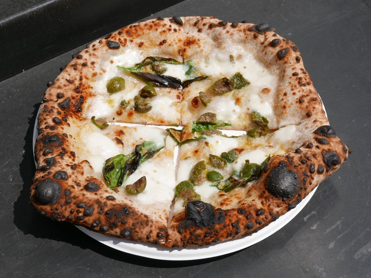 Bianca Pizza at Vivace Pizzeria Truck