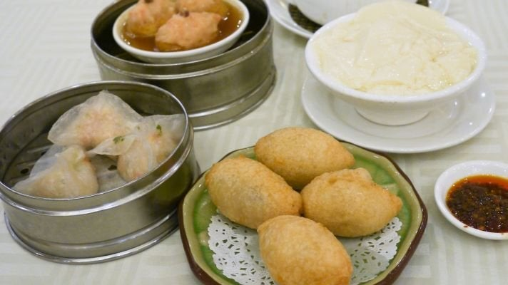 Dim sum at NBC Seafood